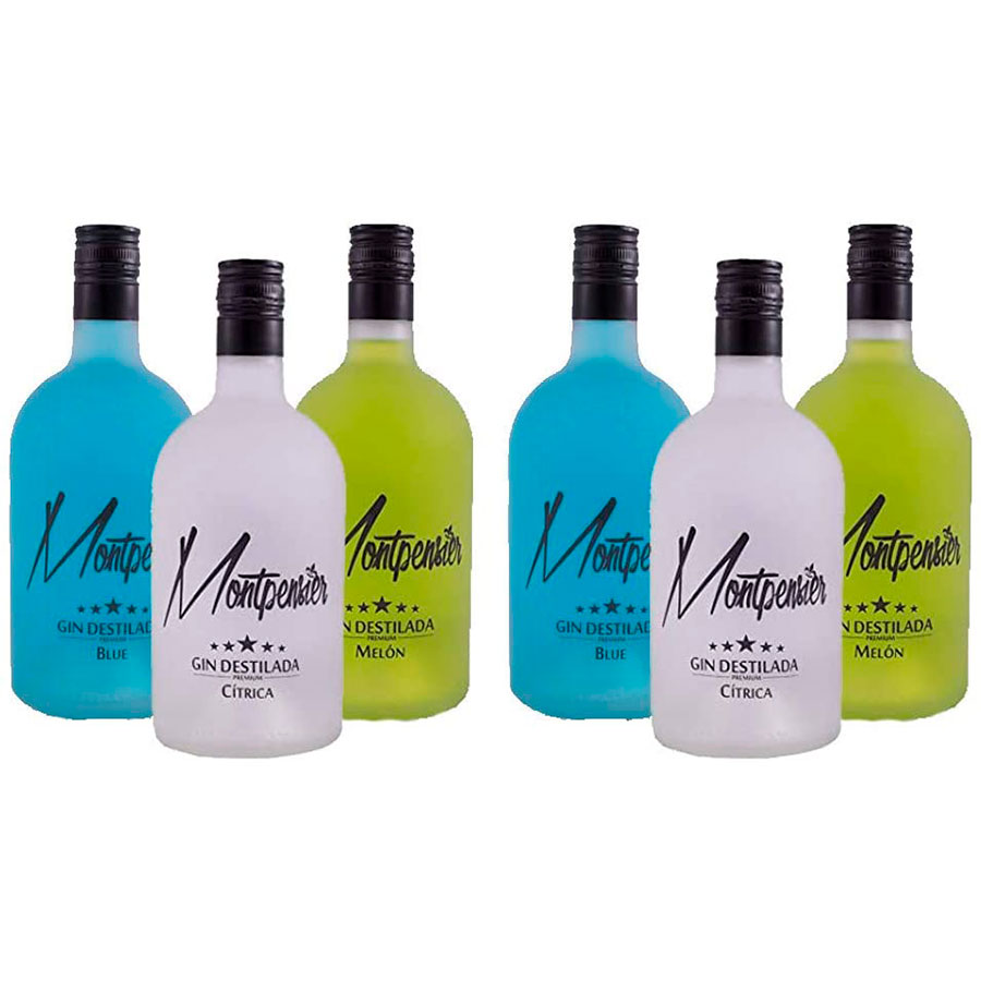 Pack 6 botellas Montpensier